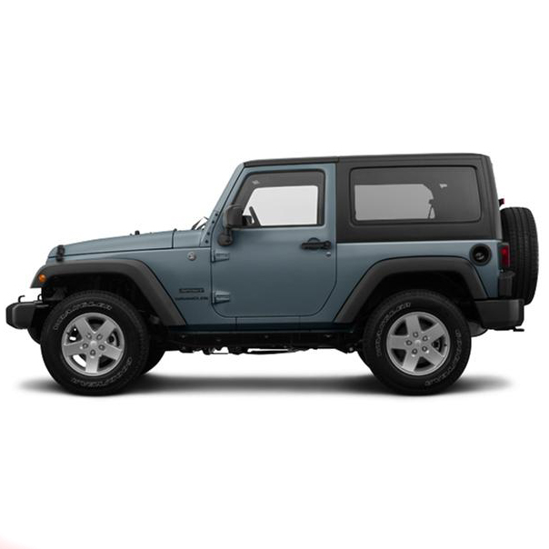Jeep Wrangler Car Mats (All Models)