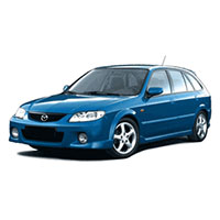 Mazda 323 Boot Liners