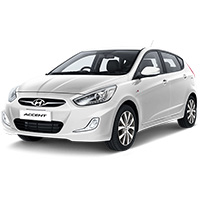 Hyundai Accent Boot Liners