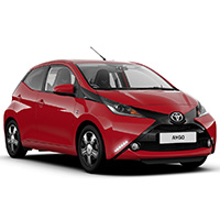 Toyota Aygo Boot Liners