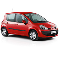 Renault Modus Boot Liner (2004-2008)