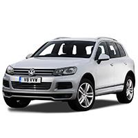 VW Touareg Boot Liners