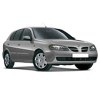 Nissan Almera Boot Liners