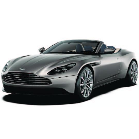 Aston Martin DB11 Volante 2018 Onwards