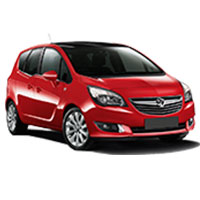 Vauxhall Meriva Boot Liners